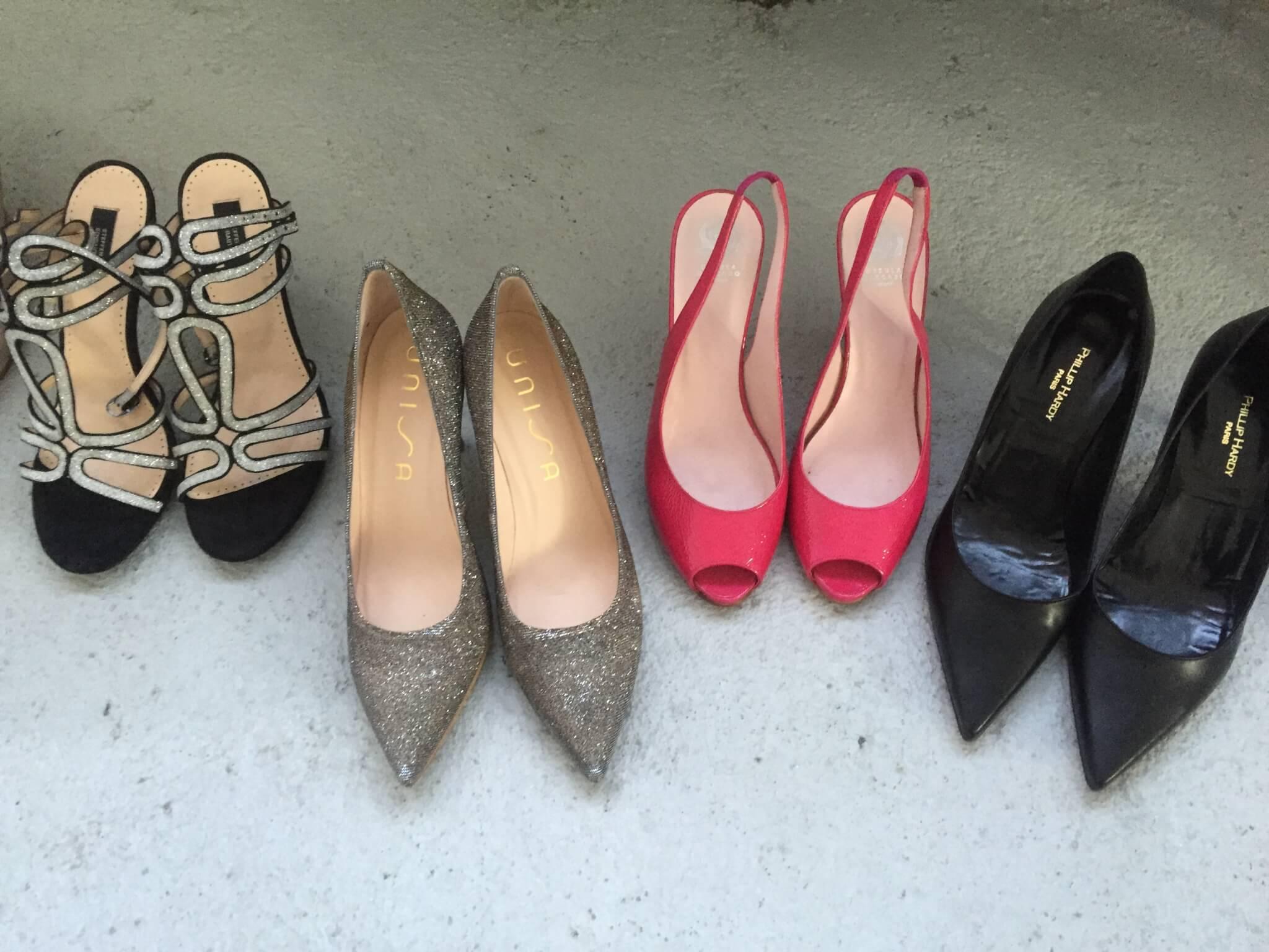 Moderatorinnen und ihre Schuhe …