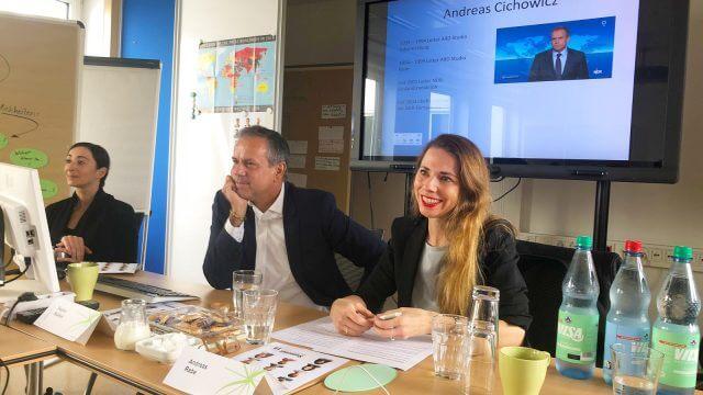NDR-Chefredakteur Andreas Cichowicz besucht die NDR-Summer School